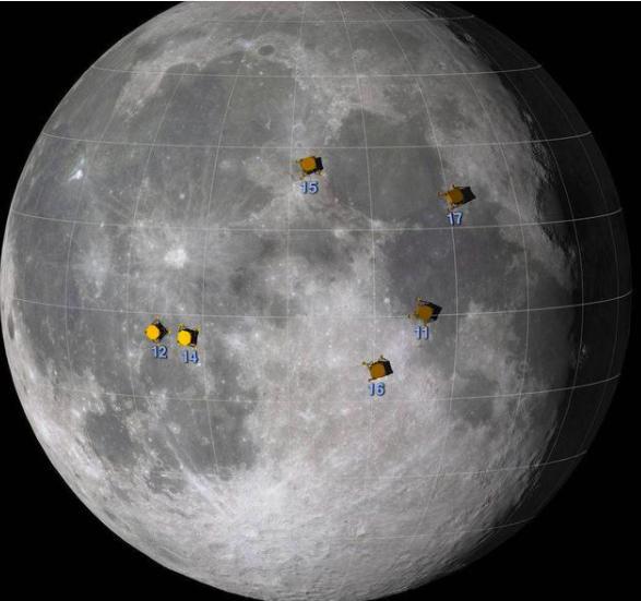 美国登月造假?嫦娥五号带回罕见物质,为何阿波罗登月6次都没有
